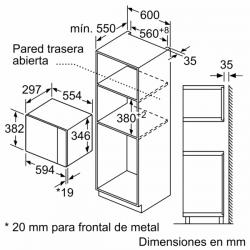 L-TERMO ELÉCTRICO BOSCH ES 0100-6 HORIZONTAL